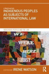 Omslag - Indigenous Peoples as Subjects of International Law