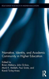 Omslag - Narrative, Identity, and Academic Community in Higher Education