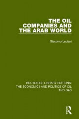 Omslag - The Oil Companies and the Arab World