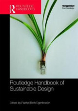 Omslag - Routledge Handbook of Sustainable Design
