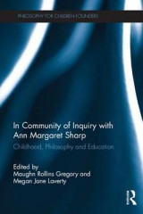 Omslag - In Community of Inquiry with Ann Margaret Sharp