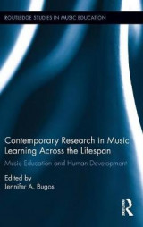 Omslag - Contemporary Research in Music Learning Across the Lifespan