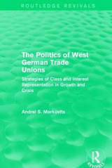 Omslag - The Politics of West German Trade Unions