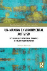 Omslag - Un-making Environmental Activism