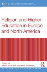 Omslag - Religion and Higher Education in Europe and North America