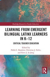 Omslag - Learning from Emergent Bilingual Latinx Learners in K-12