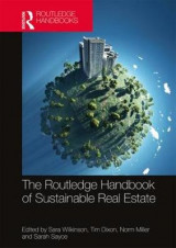 Omslag - Routledge Handbook of Sustainable Real Estate