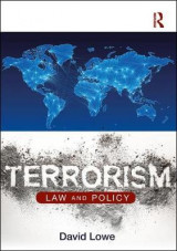 Omslag - Terrorism: Law and Policy