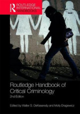 Omslag - Routledge Handbook of Critical Criminology