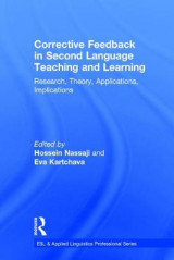 Omslag - Corrective Feedback in Second Language Teaching and Learning