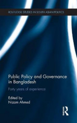 Omslag - Public Policy and Governance in Bangladesh