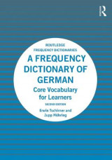 Omslag - A Frequency Dictionary of German