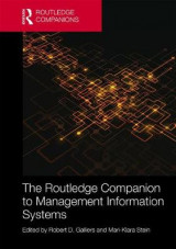 Omslag - The Routledge Companion to Management Information Systems