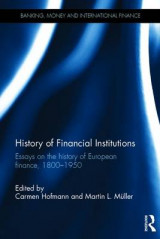 Omslag - History of Financial Institutions