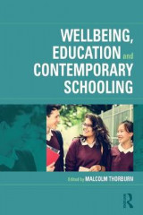 Omslag - Wellbeing, Education and Contemporary Schooling