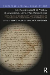 Omslag - Selections from Subh al-A'sha by al-Qalqashandi, Clerk of the Mamluk Court
