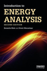 Omslag - Introduction to Energy Analysis