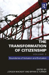 Omslag - The Transformation of Citizenship: Volume 3