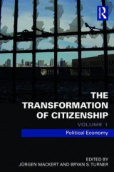 Omslag - The Transformation of Citizenship: Volume 1