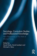 Omslag - Sociology, Curriculum Studies and Professional Knowledge