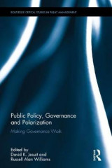 Omslag - Public Policy, Governance and Polarization