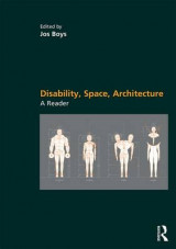 Omslag - Disability, Space, Architecture: A Reader