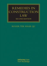 Omslag - Remedies in Construction Law