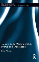 Omslag - Twins in Early Modern English Drama and Shakespeare
