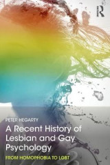 Omslag - A Recent History of Lesbian and Gay Psychology