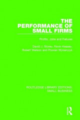 Omslag - The Performance of Small Firms