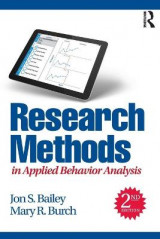 Omslag - Research Methods in Applied Behavior Analysis