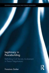 Omslag - Legitimacy in Peacebuilding