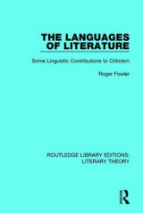 Omslag - The Languages of Literature
