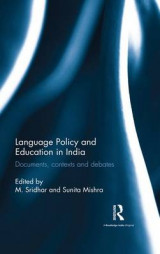 Omslag - Language Policy and Education in India