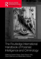 Omslag - The Routledge International Handbook of Forensic Intelligence and Criminology
