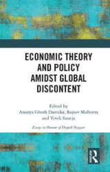 Omslag - Economic Theory and Policy amidst Global Discontent