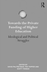 Omslag - Towards the Private Funding of Higher Education