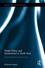 Omslag - Water Policy and Governance in South Asia