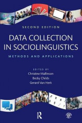Omslag - Data Collection in Sociolinguistics