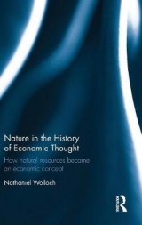 Omslag - Nature in the History of Economic Thought