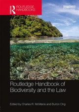 Omslag - Routledge Handbook of Biodiversity and the Law