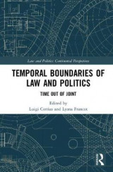 Omslag - Temporal Boundaries of Law and Politics