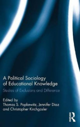 Omslag - A Political Sociology of Educational Knowledge