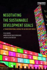 Omslag - Negotiating the Sustainable Development Goals