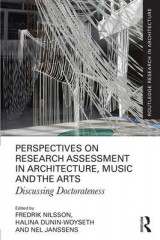 Omslag - Perspectives on Research Assessment in Architecture, Music and the Arts