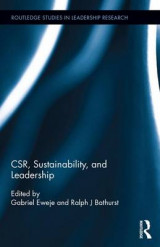Omslag - CSR, Sustainability, and Leadership