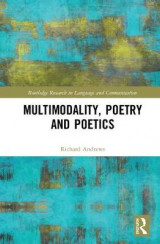 Omslag - Multimodality, Poetry and Poetics