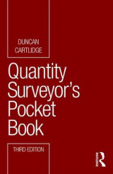 Omslag - Quantity Surveyor's Pocket Book