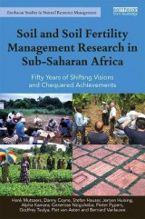 Omslag - Soil and Soil Fertility Management Research in Sub-Saharan Africa