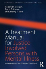 Omslag - A Treatment Manual for Justice Involved Persons with Mental Illness